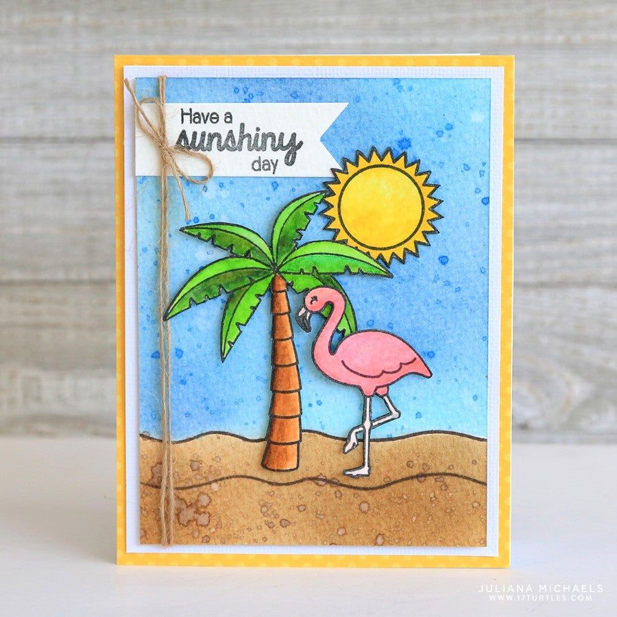 Tropical Paradise Stamps