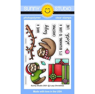Lazy Christmas Stamps