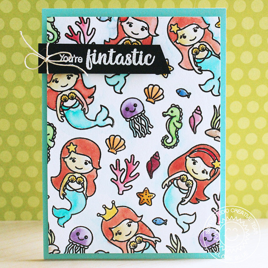 Magical Mermaids Stamps