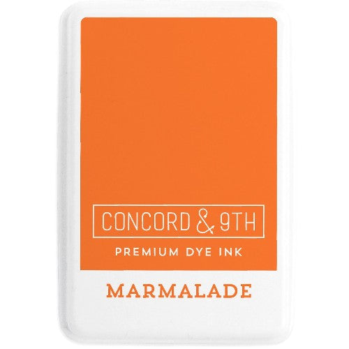 Concord & 9th Marmalade Full Size Premium Dye Ink Pad for Stamping