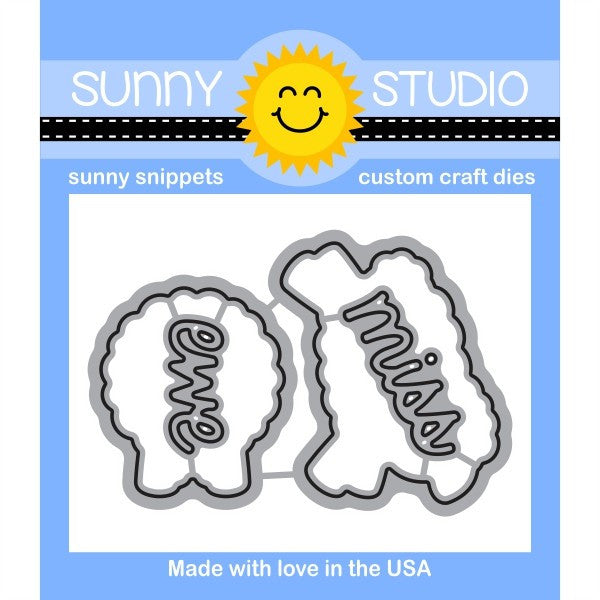 Sunny Studio Stamps Missing Ewe Sheep Die Set