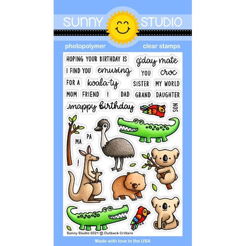 Outback Critters Stamps