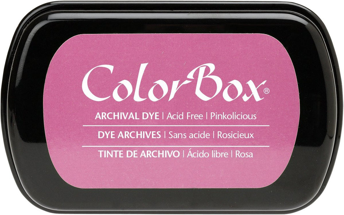 Clearsnap Colorbox Archival Dye Ink Pad-Pinkolicious
