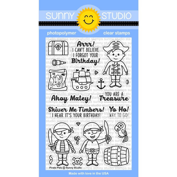 Pirate Pals Stamps