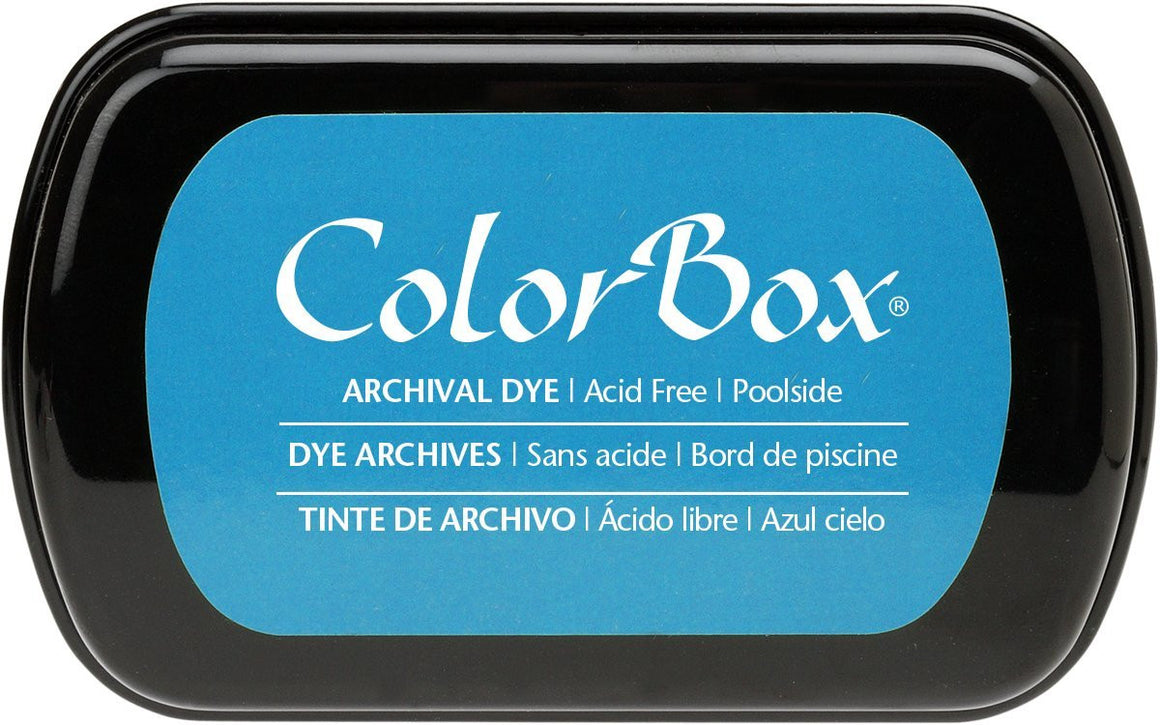 Clearsnap Colorbox Archival Dye Ink Pad-Poolside