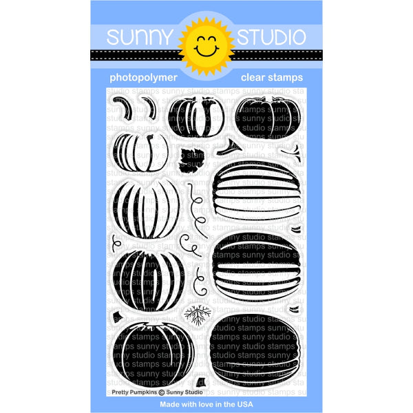 Pretty Pumpkins Stamps