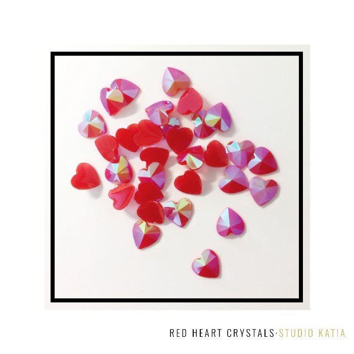 Studio Katia 6mm Red Heart Crystals