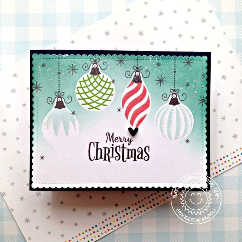 Retro Ornaments Stamps