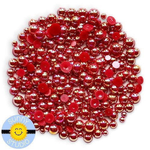 Ruby Red Pearls