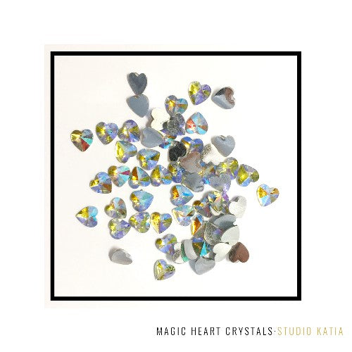 Studio Katia 6mm Magic Heart Gems Crystals