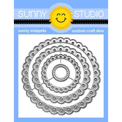Scalloped Circle Mat 2 Dies