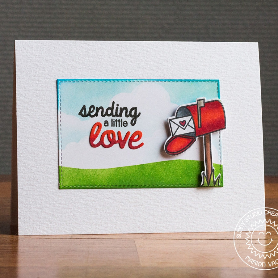 Sending My Love Stamps