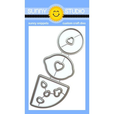 Sunny Studio Stamps Slice of Summer Low Profile Metal Cutting Dies