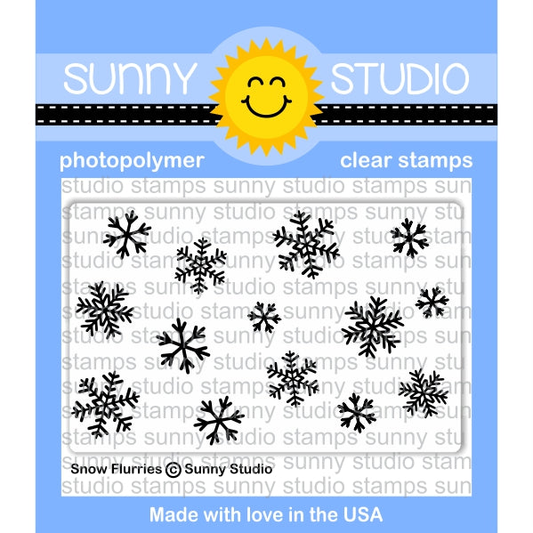 Snow Flurries Stamps