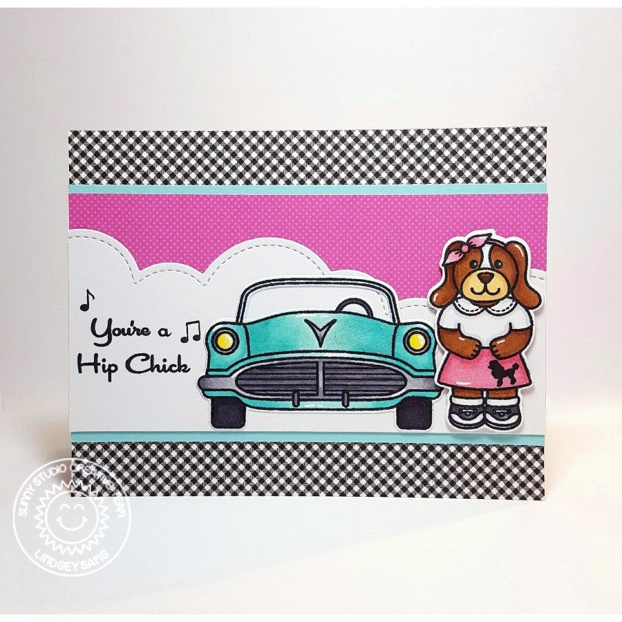 Sock Hop Stamps