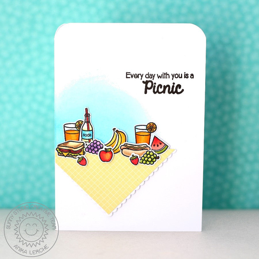 Summer Picnic Stamps
