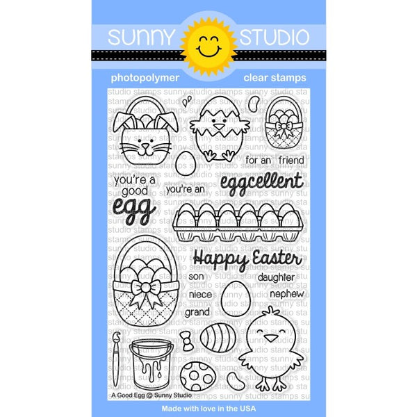 A Good Egg Stamps