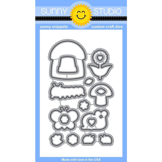 Sunny Studio Stamps Backyard Bugs Die Set