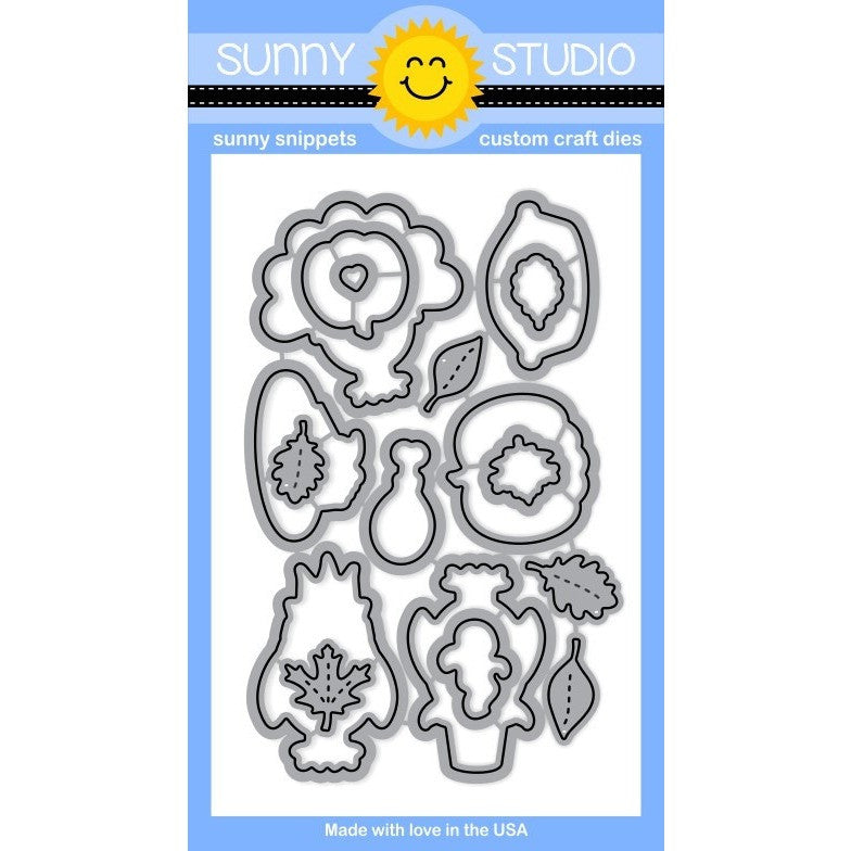Sunny Studio Stamps Harvest Happiness Die Set