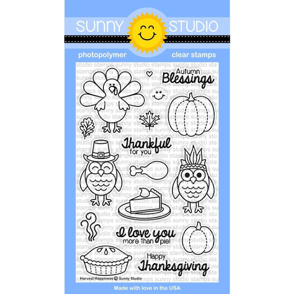 Harvest Happiness Stamps