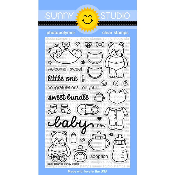 Baby Bear Stamps