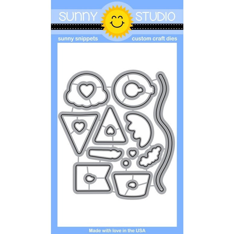 Sunny Studio Stamps Birthday Smiles Die Set