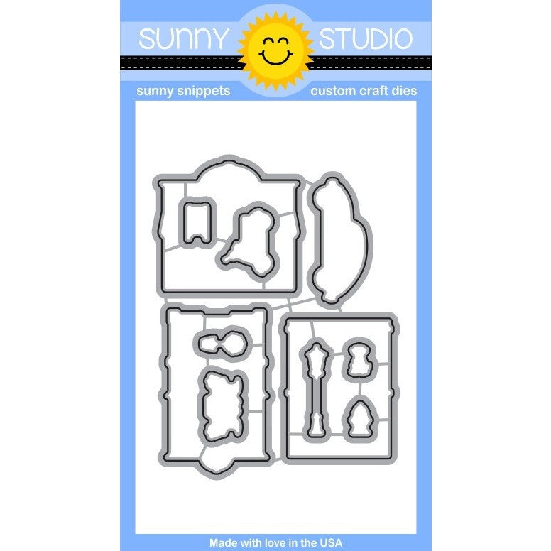 Sunny Studio Stamps City Streets Craft Dies
