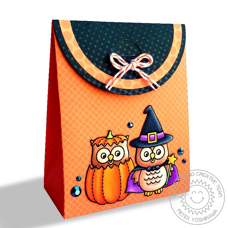 Sunny Studio Stamps Happy Owl-o-ween Halloween Sweet Treats Party Favor Gift Bag