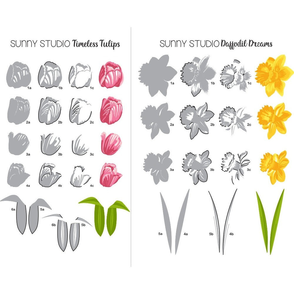 Timeless Tulips Stamps