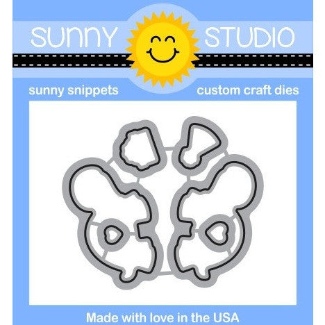 Sunny Studio Stamps Turtley Awesome Die Set