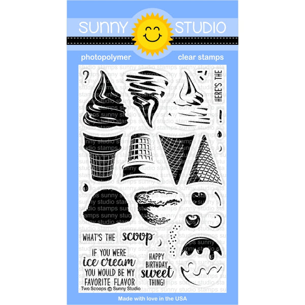 Two Scoop Stamps