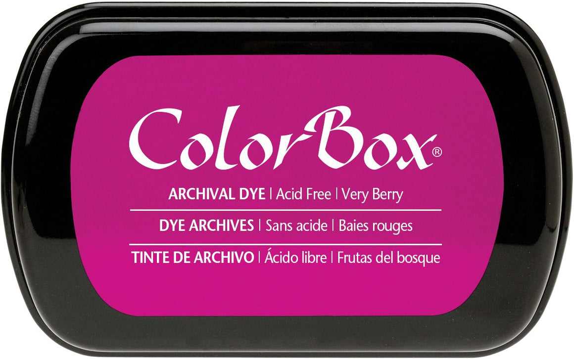 Clearsnap Colorbox Archival Dye Ink Pad-Very Berry