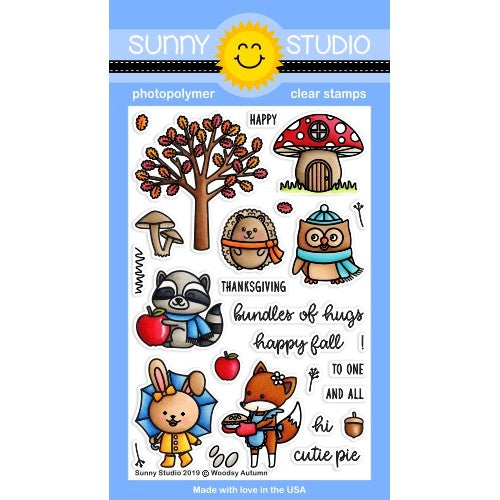 Woodsy Autumn Stamps