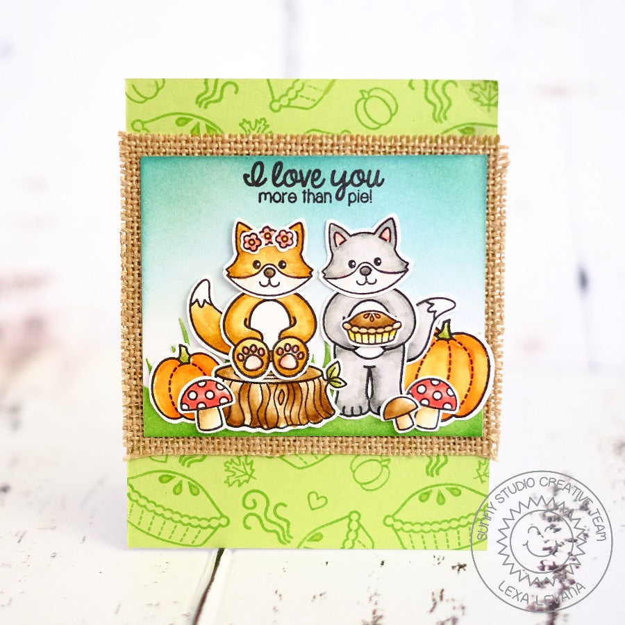 Woodsy Creatures Stamps