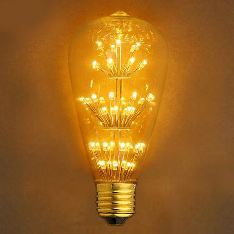 Retro Edsion - Antique LED Bulb - E27 220V - 2W - Warm White