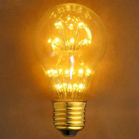 Star Edison  LED Bulb - Tree Bulb - E27 220V - Warm White Light - Loft Retro Style