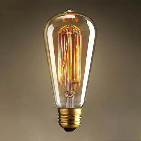 Vintage Edison Bulbs - E27 220V - Incandescent - 25W 40W 60W - Filament -  Retro Edison Light