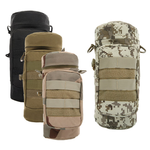 Camouflage Water Bottle Bag - Tactical - Water Bottle - Hydration Pack