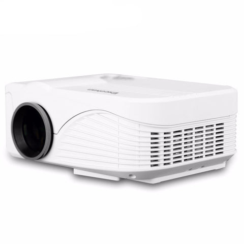 Excelvan X9 Mini Projector - 800*480 - 1000 Lumens - HDMI / USB / AV / VGA / SD - Interface 4''LCD