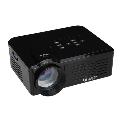 Uhappy BL35 HD TV - Home Cinema Projector - HDMI LCD LED - 1080P - 3D Beamer