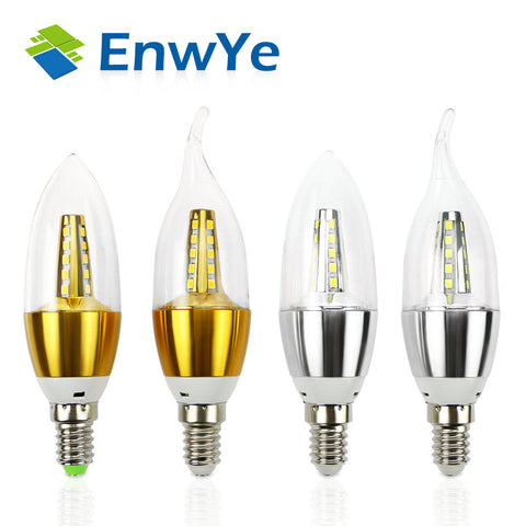 E14 LED Candle Energy Light - 5W 7W - 220V 230V 240V - SMD2835