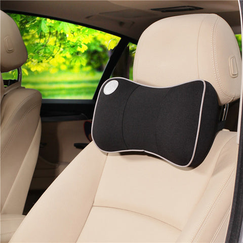 Universal Car Head Rest - Pillow Pad - Space Memory - 7 Colors
