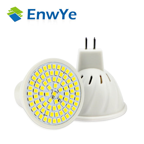 5x LED Sportlight - E27 E14 GU10 MR16 - 110V 220V 230V - 48 60 80 LEDs