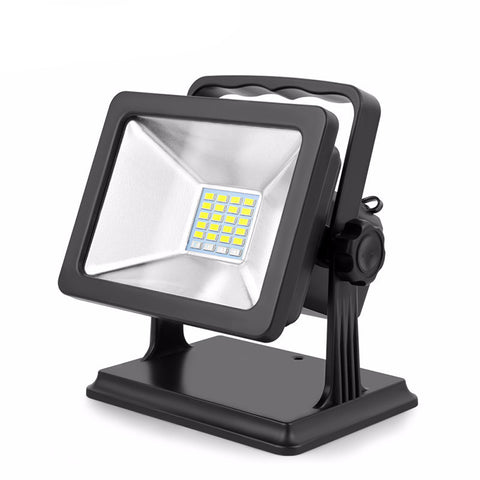 Rechargeable LED Flood Light - 15W - Waterproof - 110-240V