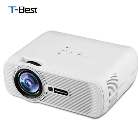 Excelvan UC80 EHD01 Mini Portable Multimedia LCD LED Projector - 800x480 pixels - 1500lumens