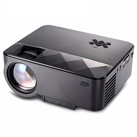 RUISHIDA Portable LCD Projector - 1500 Lumens - HDMI-  3D Media Player Support - 1920 x 1080 Full HD