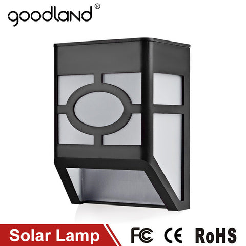 LED Solar Lamp - Waterproof IP65 - Outdoor Lighting - With Light Control
