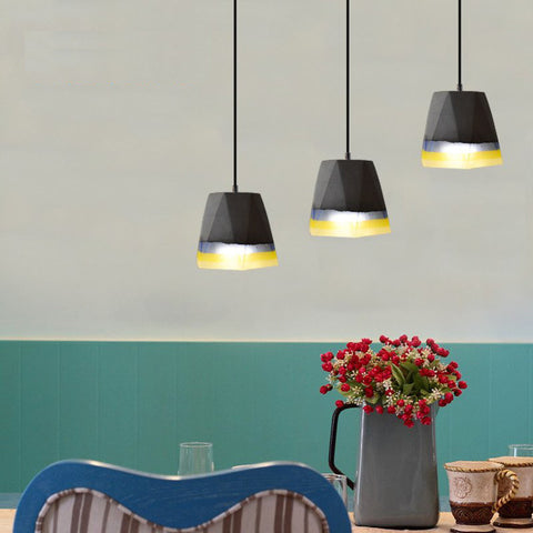 Vintage Cement Pendant Lights - American Country Style - Retro Light Fixtures - 120cm