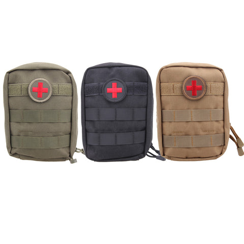 New Tactical First Aid Bag - Nylon - EMT Pouch - Outdoor Emergency - Military Utility Pack