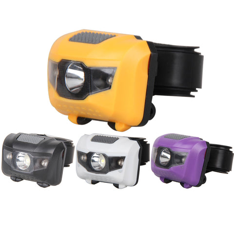 3W LED Headlamp - White Red -  Waterproof